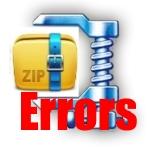 Ошибки в 7 Zip
